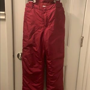 BRAND NEW snow suit combo maroon color